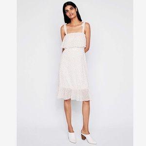 Tie Shoulder Midi Dress